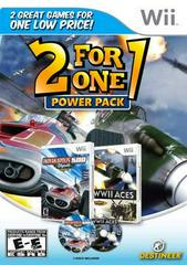 2 for 1 Power Pack WWII Aces & Indianapolis 500 Legends - Wii