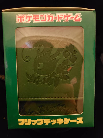 Leafeon Leather Deck Box - Japanese