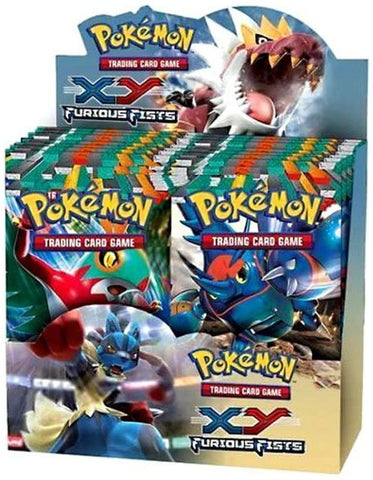 XY Furious Fists - Pokemon - 36 Pack Booster Box - Sealed - New