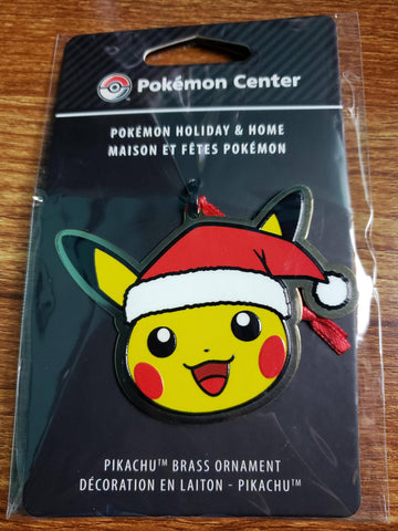 Pikachu Christmas Ornament - Pokemon Center - Special Promotional Item - Sealed