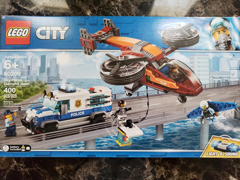City - Sky Police Diamond Heist - 60209 - Lego