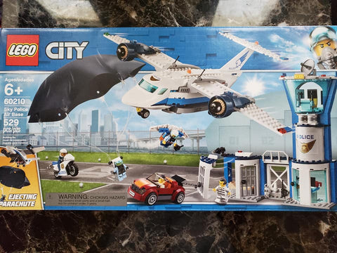 City - Sky Police Air Base - 60210 - Lego