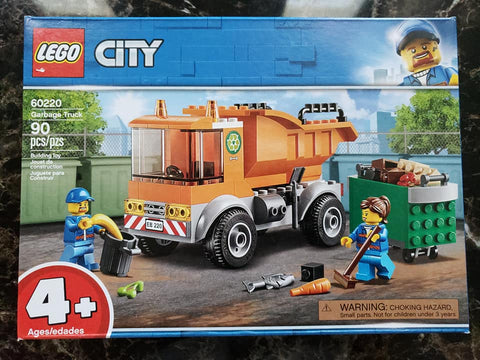 City - Great Vehicles - Garbage Truck - 60220 - Lego