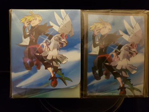 Gladion and Silvally - Japanese - Sleeves and Deck Box Combo