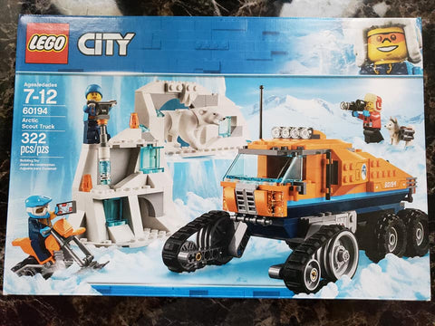 City - Arctic Scout Truck - 60194 - Lego