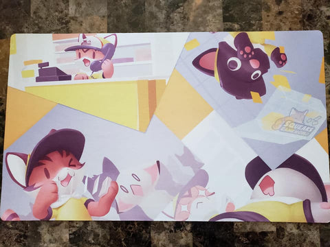 Squeaks Game World Mascot Playmat