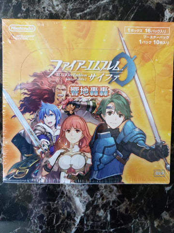 Fire Emblem Cipher 0 - B09 - Sealed Booster Box - 24 Packs