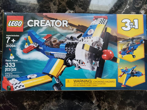 Creator - 3 in 1 - Race Plane - 31094 - Lego