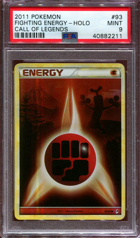 Fighting Energy - Call of Legends - 93/95 - PSA 9