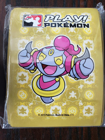 Hoopa Kid Form - Play! Pokemon - Yellow - Set of 60 Sleeves