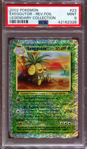Exeggutor - Legendary Collection - 23/110 - PSA 9 - Reverse Foil