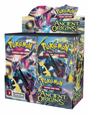 XY Ancient Origins - Pokemon - 36 Pack Booster Box - Sealed - New
