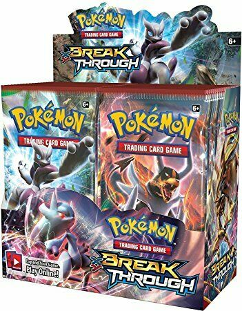 XY Breakthrough - Pokemon - 36 Pack Booster Box - Sealed - New