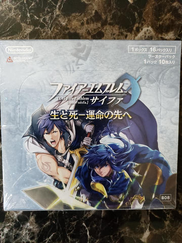 Fire Emblem Cipher 0 - B08 - Sealed Booster Box - 24 Packs