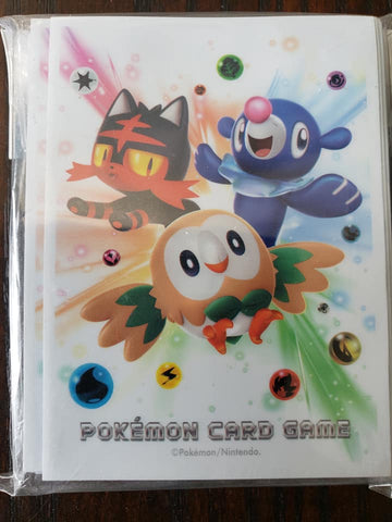 Sun and Moon Starters - Japanese - Set of 60 Sleeves