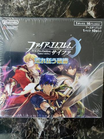 Fire Emblem Cipher 0 - B12 - Sealed Booster Box - 24 Packs