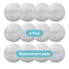 Load image into Gallery viewer, Replacement Pads for Gladwell Gecko Robot Window Cleaner - 6 Pack (12 Pieces)