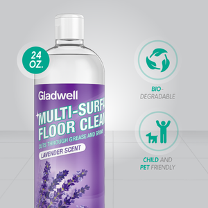 Gladwell Multi Surface Floor Cleaner Disinfectant Detergent and Cleaning Solution - Lavender