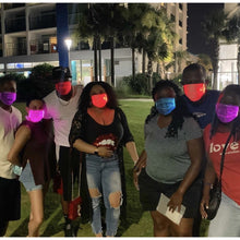 Load image into Gallery viewer, The Rave Color~Changing Face Masks - ToteGameTight