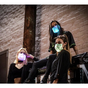 The Rave Color~Changing Face Masks - ToteGameTight