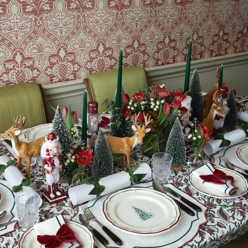 The First Noël Tablescape (Candy Cane)