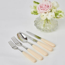 Ivory Cutlery Set (5 Piece)