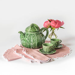 Lettuce Tea Set - Small Cups