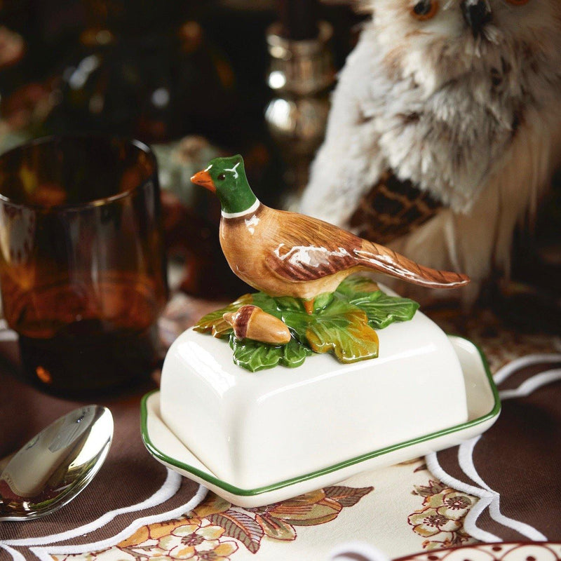 Pheasant Butter Dish
