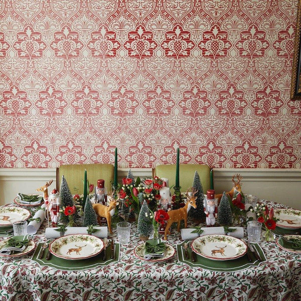 The First Noël Tablescape (Forest Green)