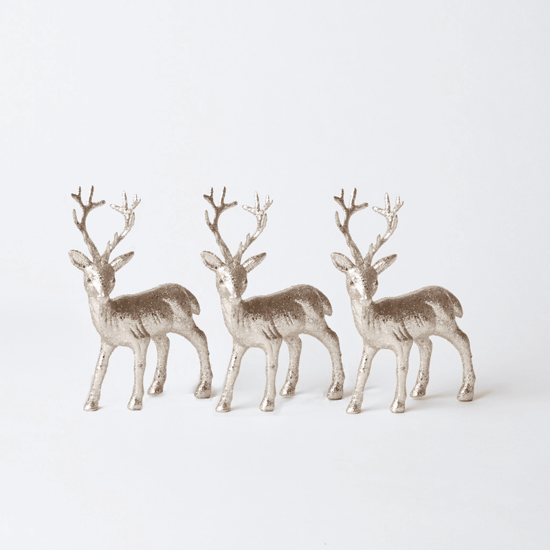 Gold Reindeer Trio (Small)