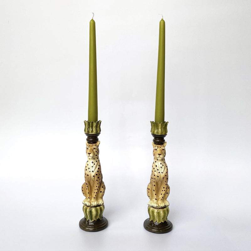 Apple Green Candles (Set of 4)