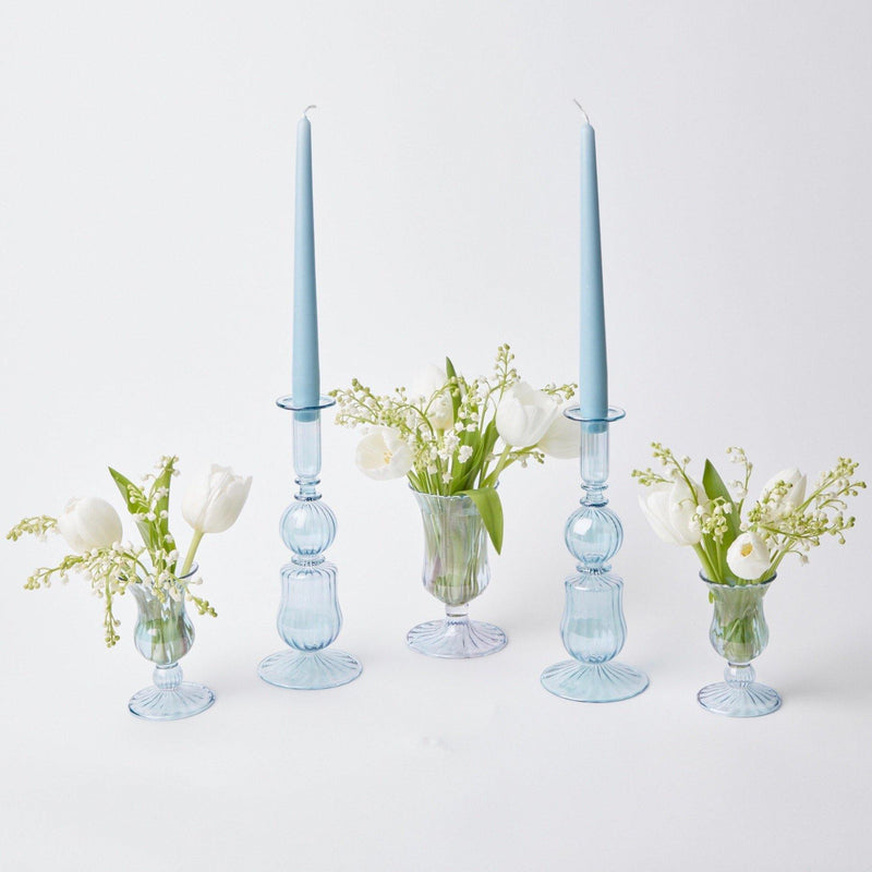 Small Delphine Candle Holders (Pair)