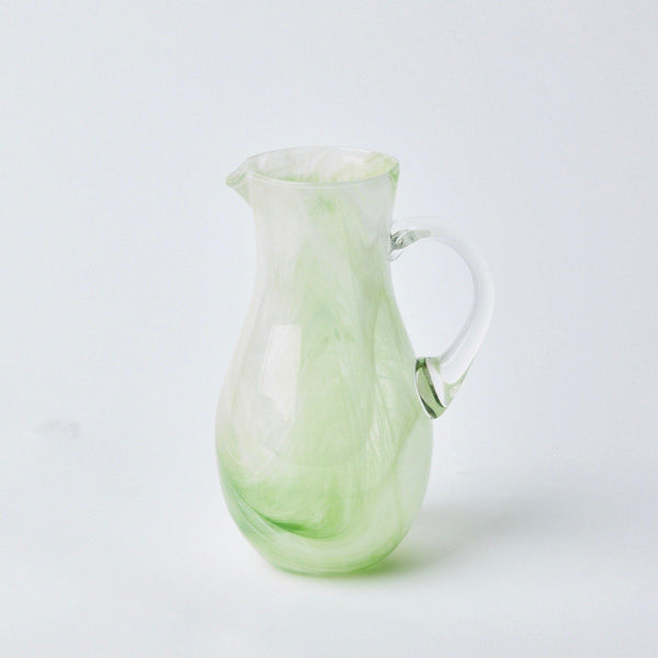 Murano Apple Green Jug