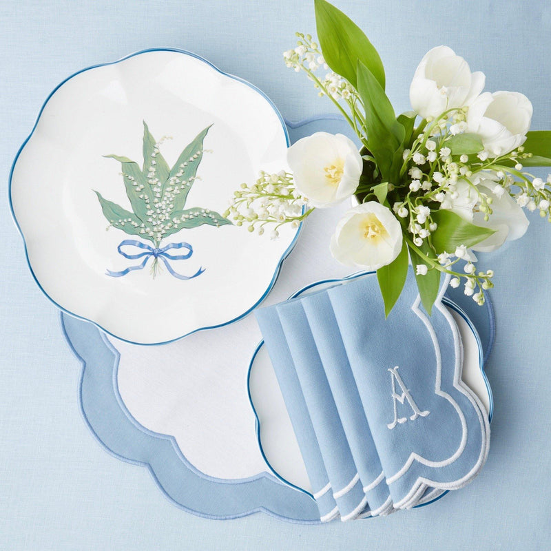 Lily of the Valley Dinner Plate