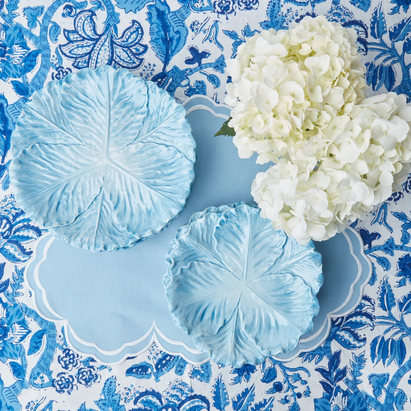 Serena Cornflower Blue Placemats (Set of 4)
