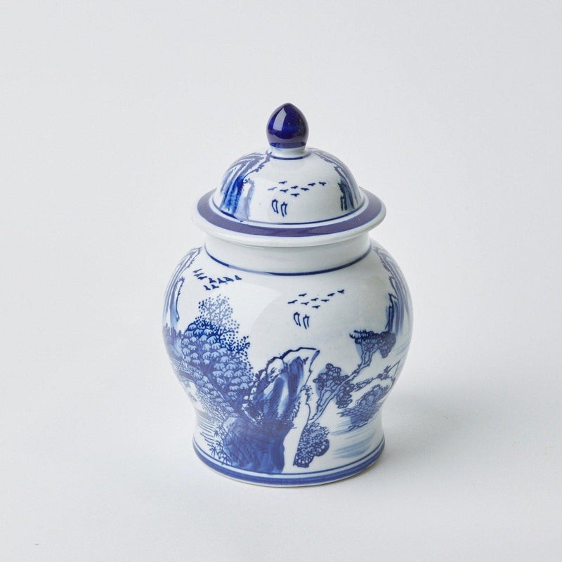 Chinoiserie Ginger Jar (Small)
