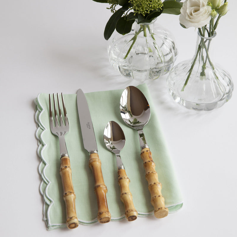 Bamboo Cutlery Set (4 Piece)