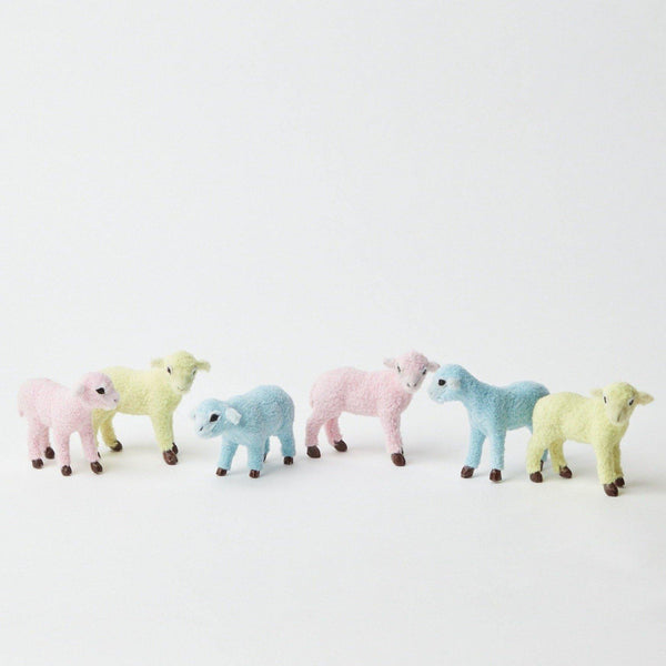 Rainbow Lambs (Set of 6)