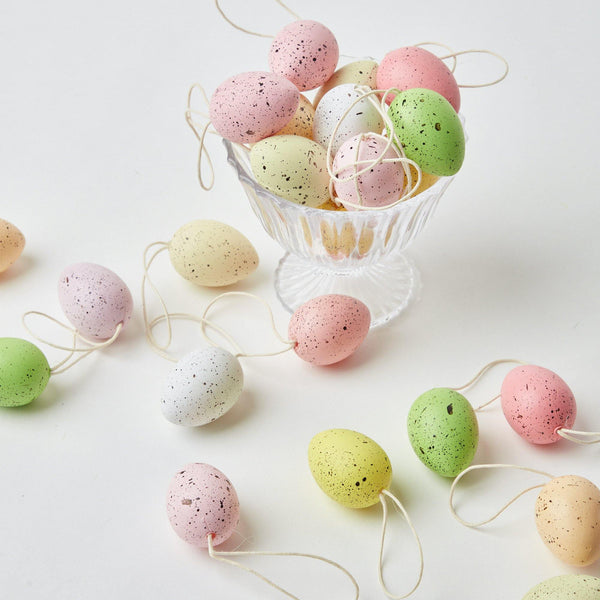 Speckled Easter Eggs