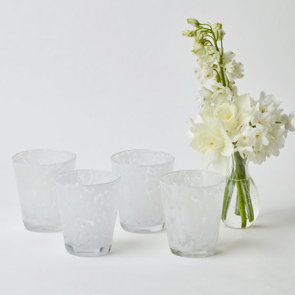 Dappled Water Glasses (Set of 4)