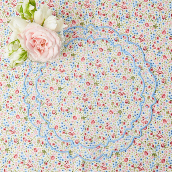 Dolly Ditsy Blue Placemats (Set of 4)