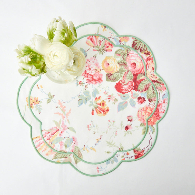 Sibyl Chintz Green Placemats (Set of 4)