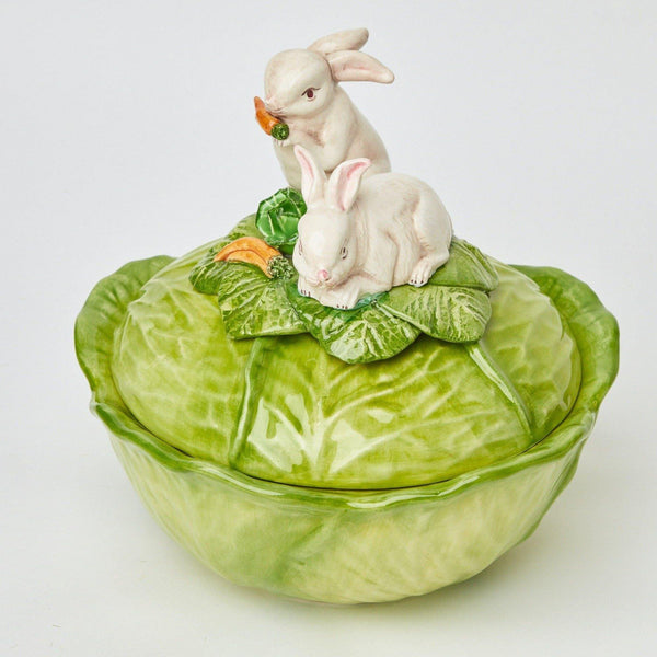 Rabbit Cabbage Tureen