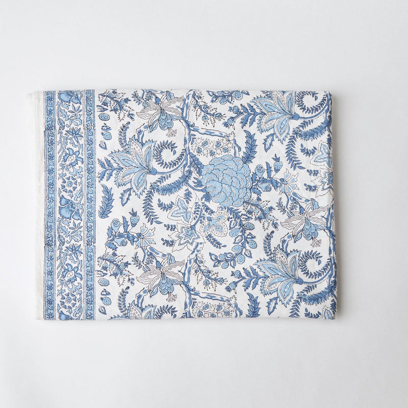 Beatrice Blue Tablecloth