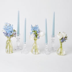 Lace Edge Candle Decoration set