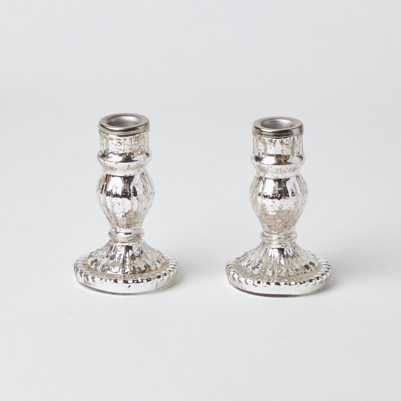Mercury Candle Holders (Pair)