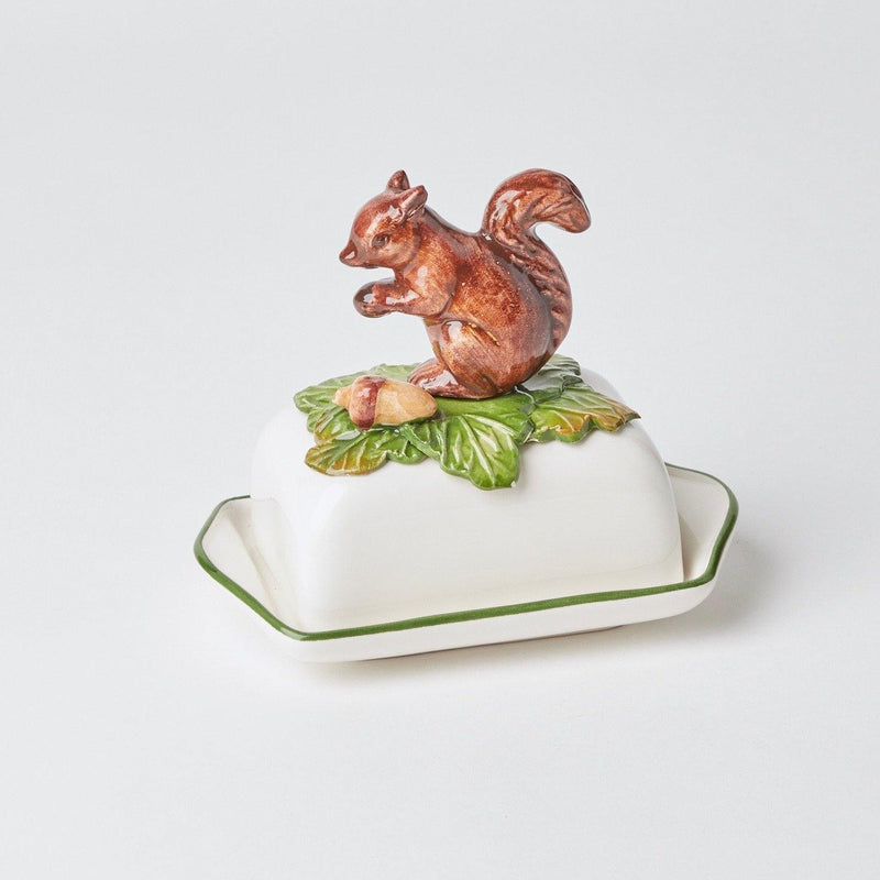 Squirrel Butter Dish