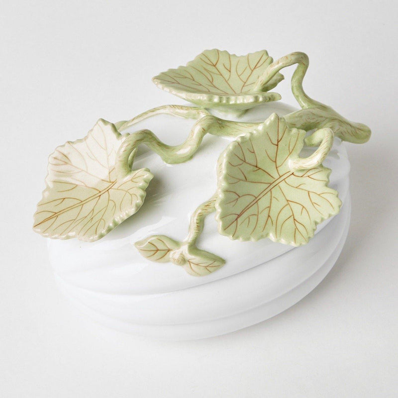 Decorative Vine Pumpkin Dish