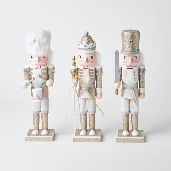 Assorted Gold Nutcracker Trio