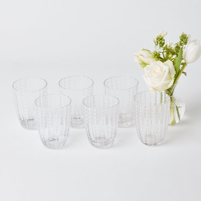 Speckle Water Glasses (Set of 6)